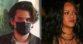 Rihanna y John Mayer cenaron juntos, colab?