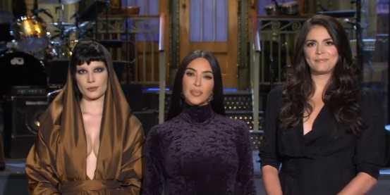Promos de Kim Kardashian para SNL