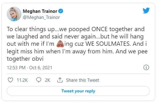 meghan tweet popo
