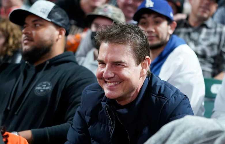 tom cruise baseball game